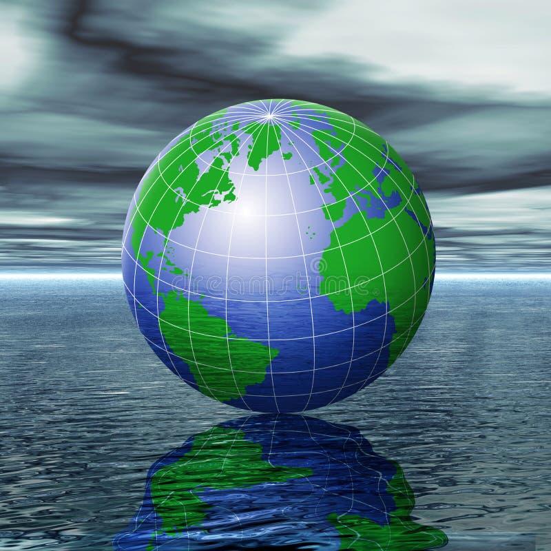 измените климат иллюстрация штока