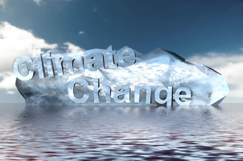 измените климат иллюстрация вектора