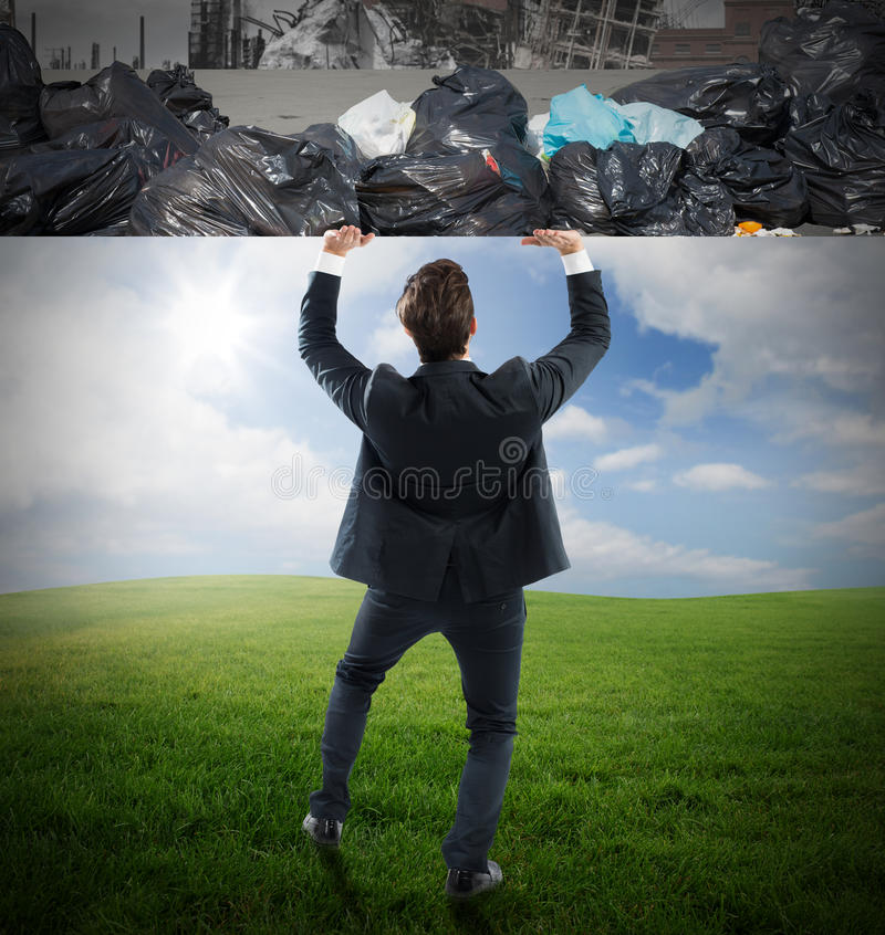 Измените окружающую среду стоковая фотография rf