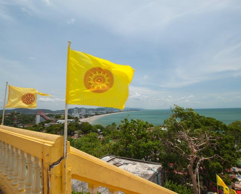 Измерение флага Таиланда стоковая фотография rf