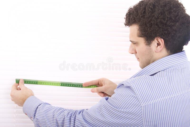 измерение человека стоковые изображения
