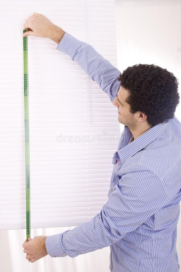 измерение человека стоковое фото rf
