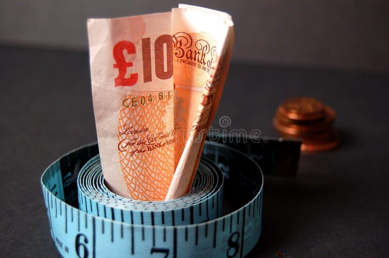 измеренная цена стоковое изображение
