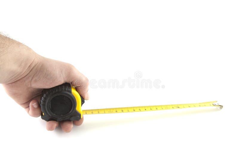 измерять длины стоковая фотография