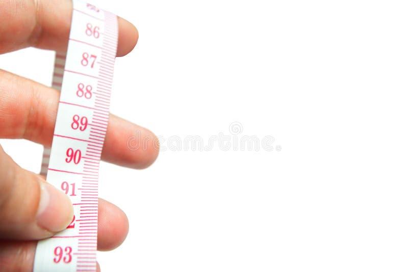 Измерять мое тело стоковая фотография
