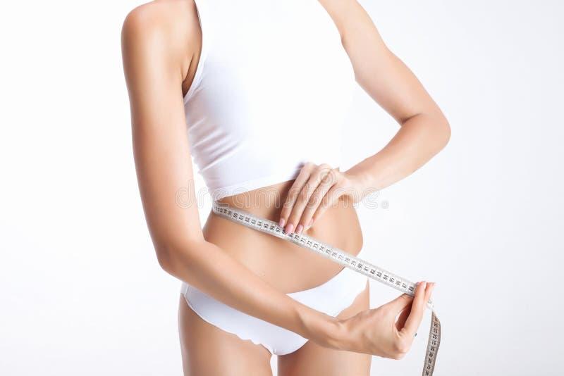 Измерять тела стоковая фотография rf