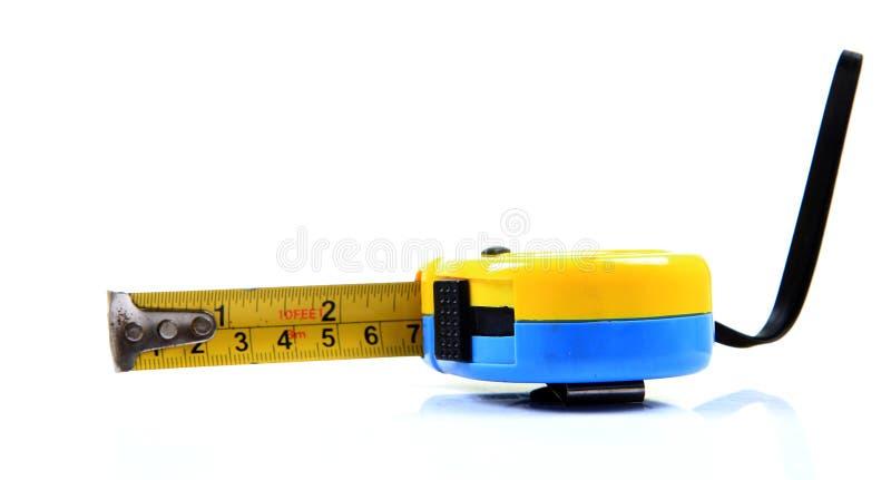 измеряя лента металла стоковая фотография rf