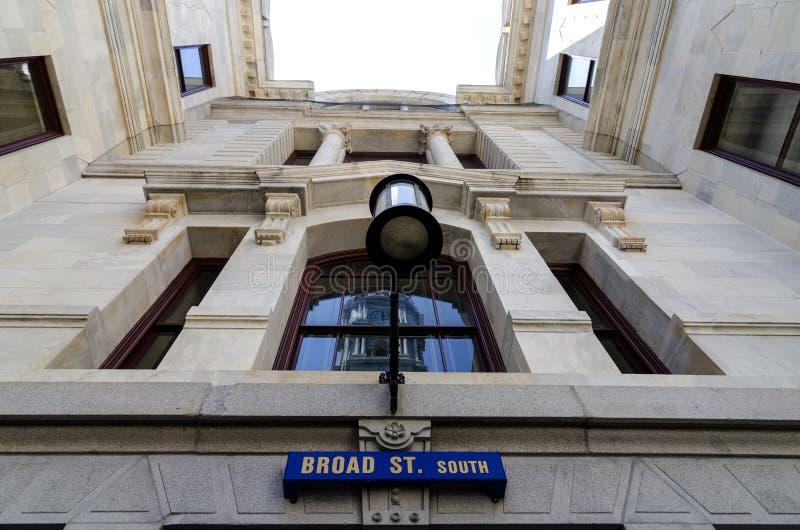 Изнутри здание муниципалитета Филадельфии. стоковые изображения rf
