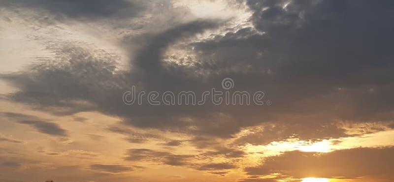 Изнутри облаков стоковое фото