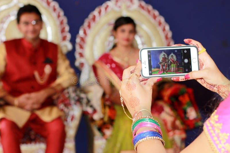 Изображающ пар - Индии стоковые изображения rf