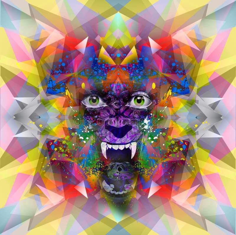 Download Изображение абстрактного искусства Иллюстрация штока - иллюстрации насчитывающей график, геометрическо: 41653360