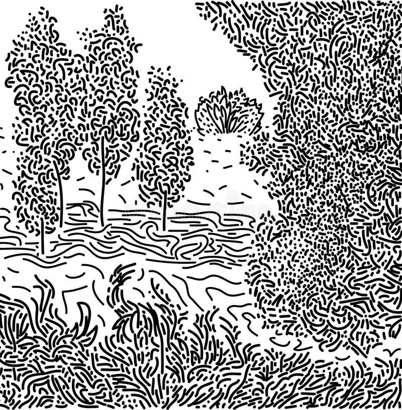 Изображение ландшафта стоковое фото