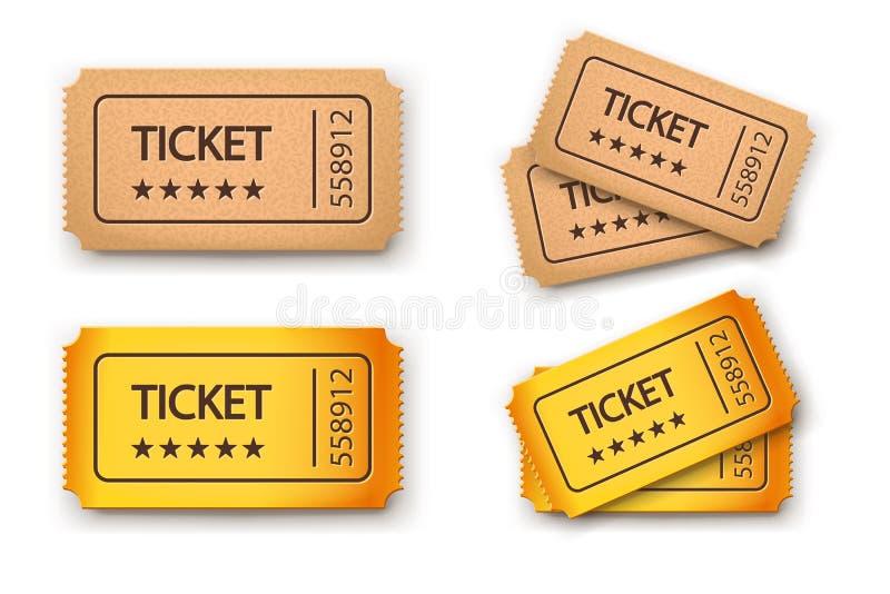 Изображение билетов бесплатная иллюстрация