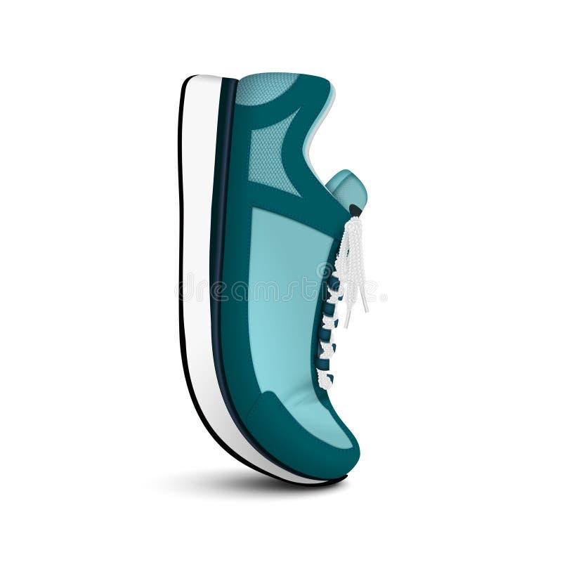 Изображение ботинка спорта реалистическое бесплатная иллюстрация