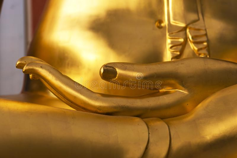 Изображение Будды символ процветания стоковые фотографии rf