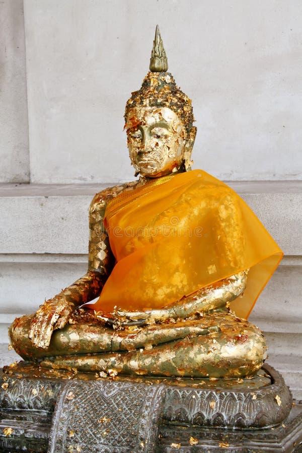 Изображение Будды виска Wihan Phra Mongkhon Bophit стоковое изображение