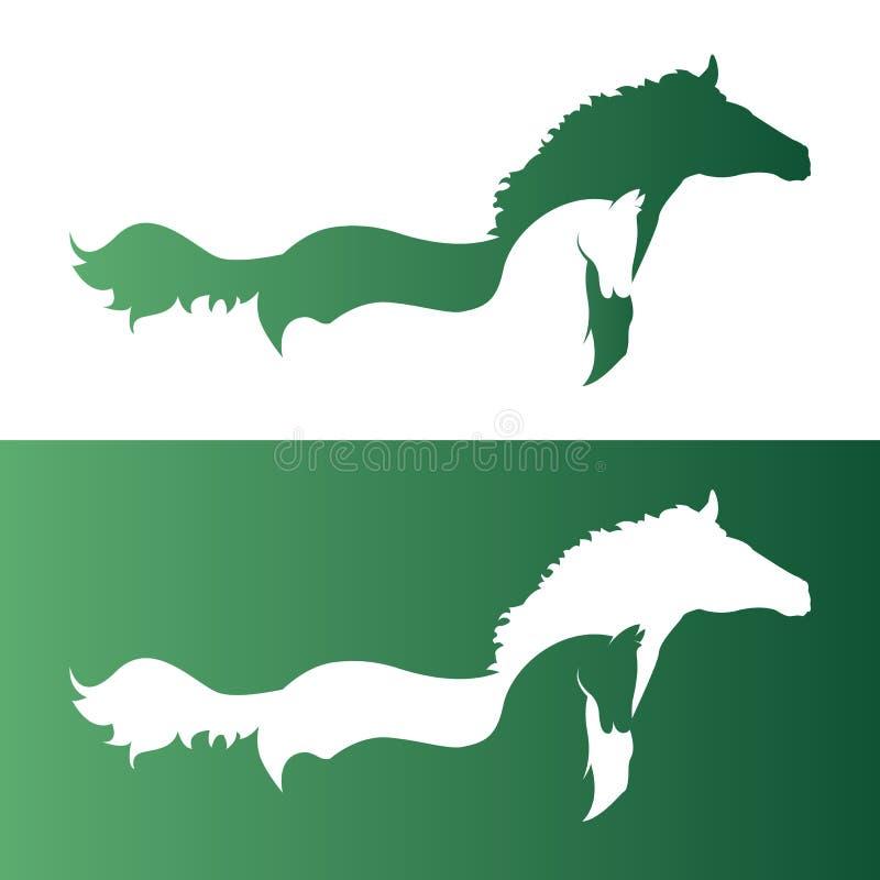 Изображение вектора лошади бесплатная иллюстрация