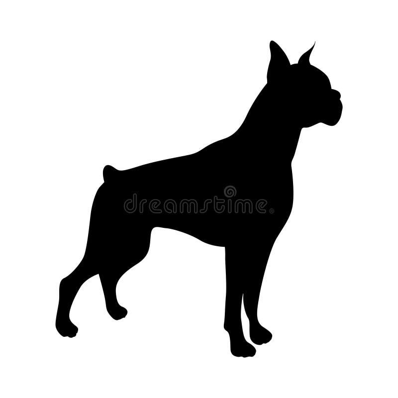 Изображение вектора собаки стоковые фото