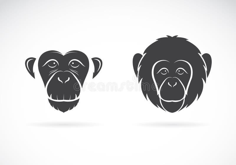 Изображение вектора стороны обезьяны бесплатная иллюстрация