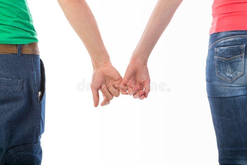 Изображение вид сзади человека и женщины стоковые изображения rf