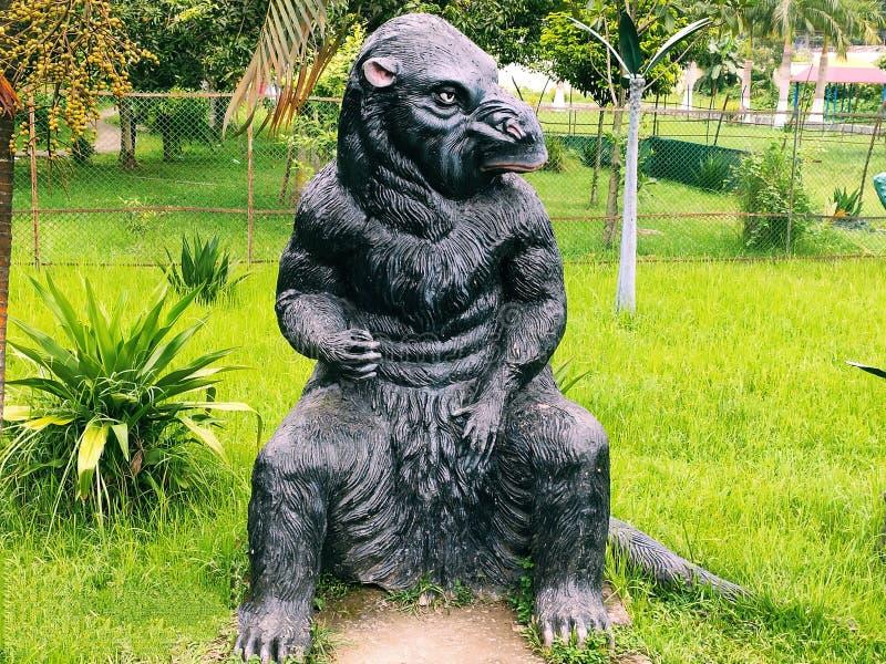 Изображение животные как горилла стоковые фото