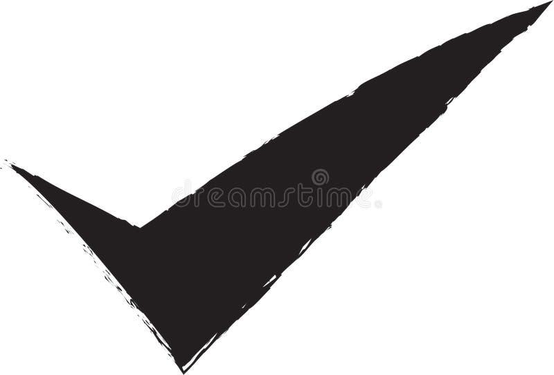 Изображение запаса: Проверка иллюстрация вектора
