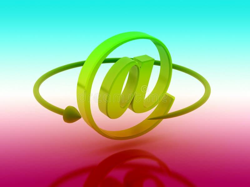 изображение запаса псевдонима renderd 3d иллюстрация штока