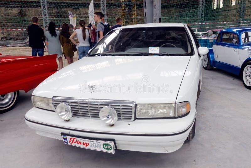 Изображение запаса Chevrolet Caprice винтажное автомобильное стоковая фотография