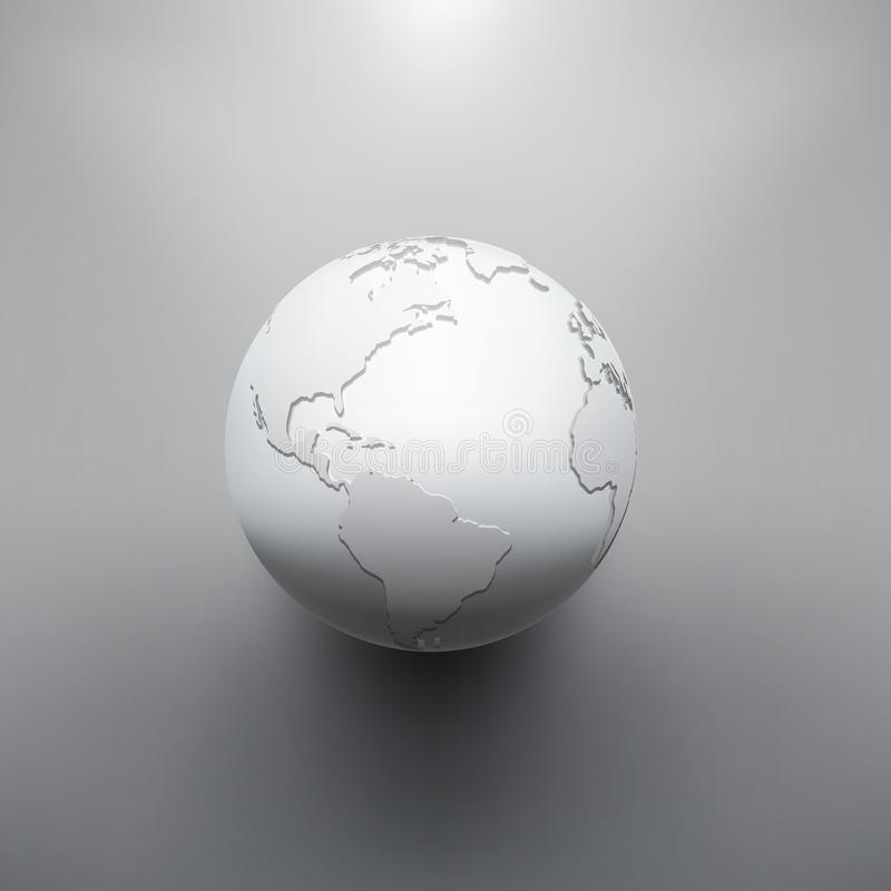 Изображение земли цифров глобуса бесплатная иллюстрация