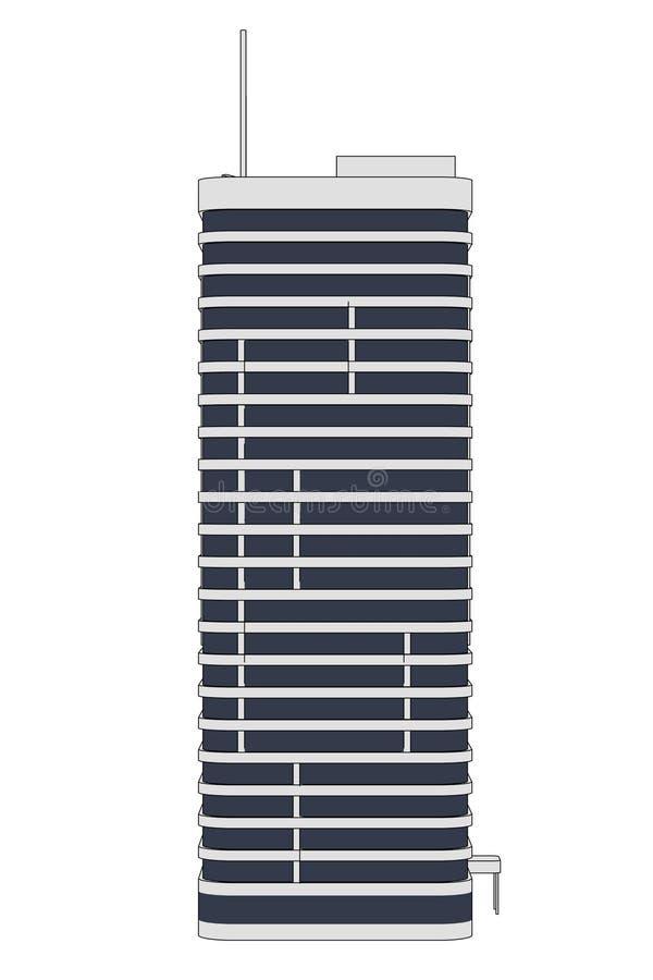 Изображение здания небоскреба бесплатная иллюстрация