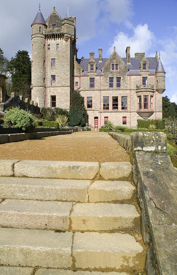 изображение Ирландии замока belfast северное стоковая фотография rf