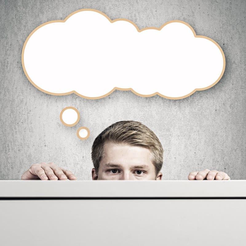 Download изображение идеи принципиальной схемы 3d представило Стоковое Фото - изображение насчитывающей содружественно, мужчина: 41650940