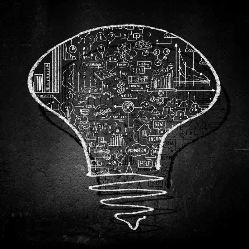 Download изображение идеи принципиальной схемы 3d представило Стоковое Фото - изображение насчитывающей creativity, творческо: 41651836
