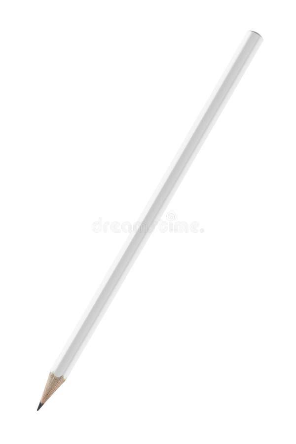 изображение иллюстрации предпосылок 3d высокое над белизной разрешения карандаша стоковое изображение