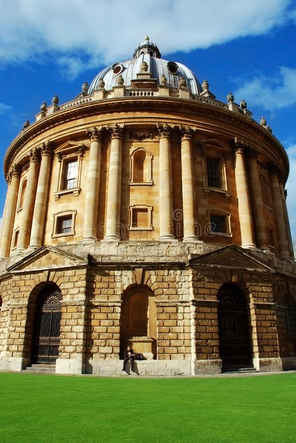 Изображение камеры Radcliffe, Оксфорд, Великобритания стоковое изображение