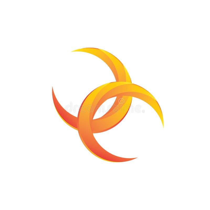 Изображение логотипа безграничности стоковое фото rf