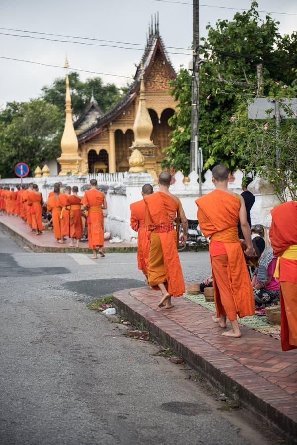 Изображение монастыря Lao стоковые изображения rf