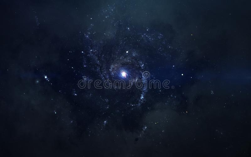 Изображение научной фантастики науки о космосе Элементы этого изображения поставленные NASA стоковое фото