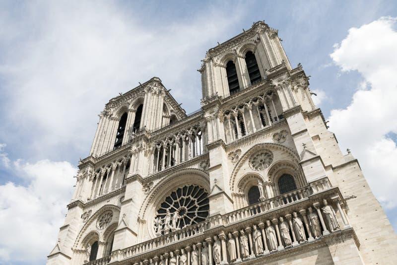 Изображение Нотр-Дам, памятника в Париже стоковое изображение rf