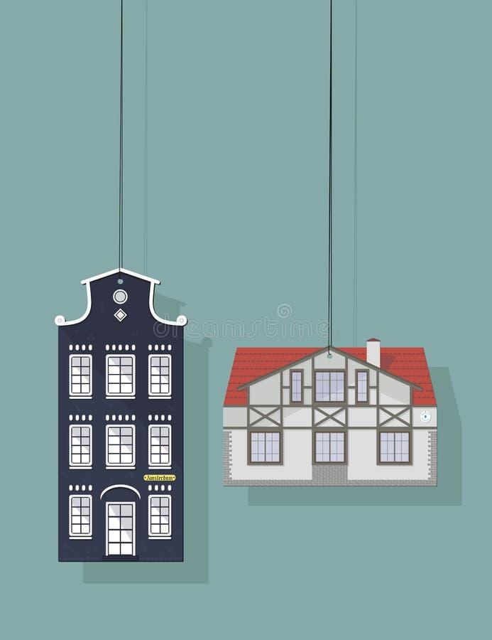 изображение дома иллюстрация вектора