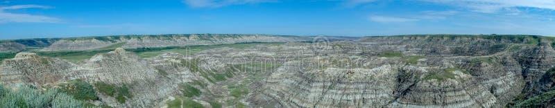 Изображение панорамы от гор в Канаде стоковая фотография