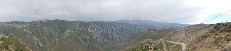 Изображение панорамы от Tatev, Армении стоковая фотография