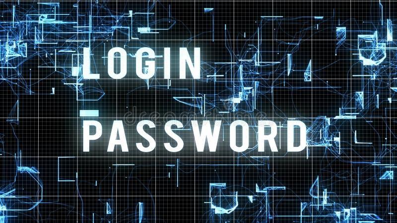 Изображение пароля имени пользователя цифров бесплатная иллюстрация
