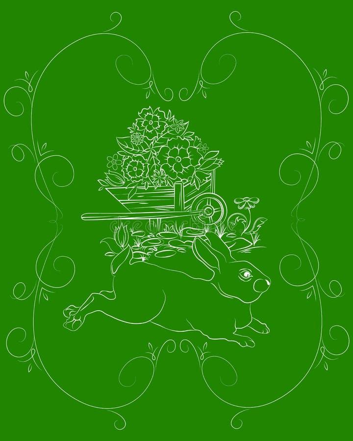 Изображение пасхи иллюстрация штока