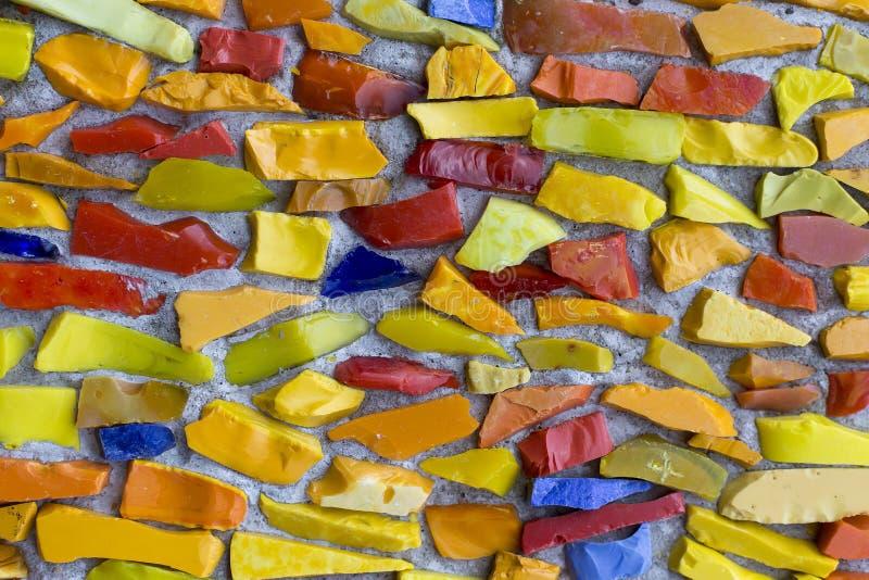 Изображение пестротканого витража с скачками картиной блока стоковая фотография