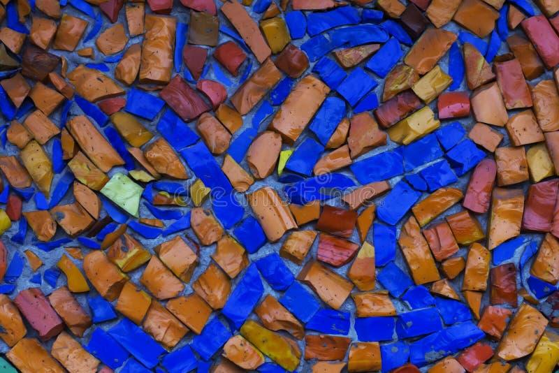 Изображение пестротканого витража с скачками картиной блока, стоковые фото