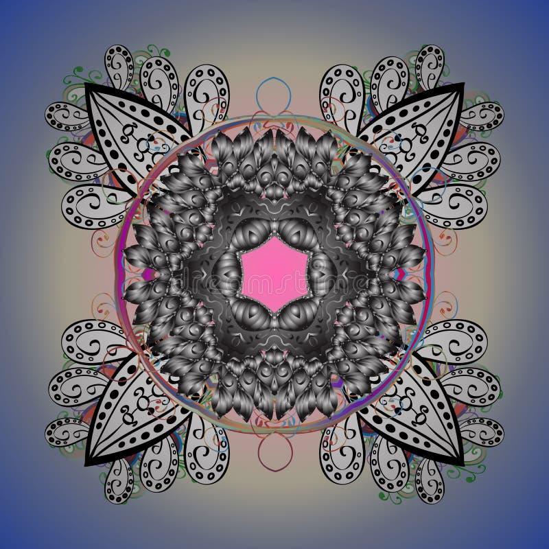 Изображение покрашенное конспектом иллюстрация вектора