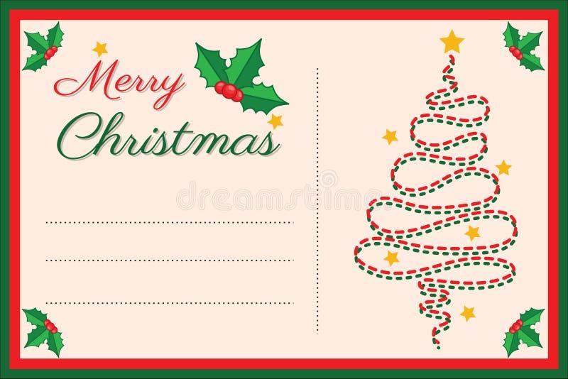 Изображение праздника рождества для знамени дизайна, билета, приглашения или карты, листовки, границы рождества, предпосылки вект иллюстрация штока