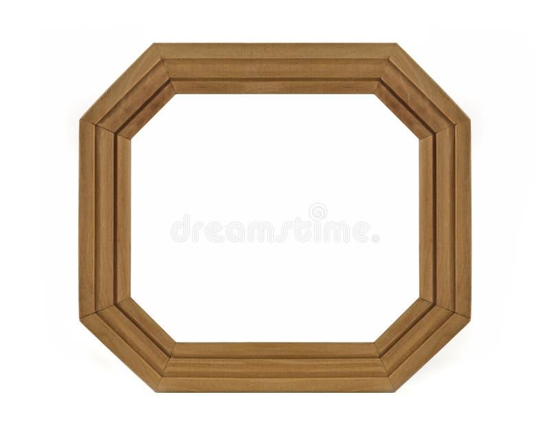 изображение рамки восьмиугольное деревянное стоковое изображение rf