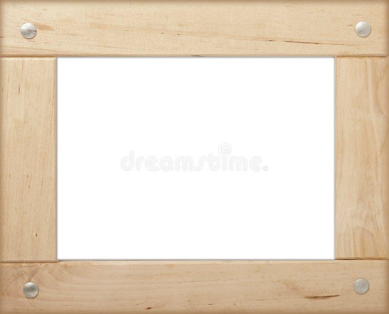 изображение рамки деревянное иллюстрация вектора